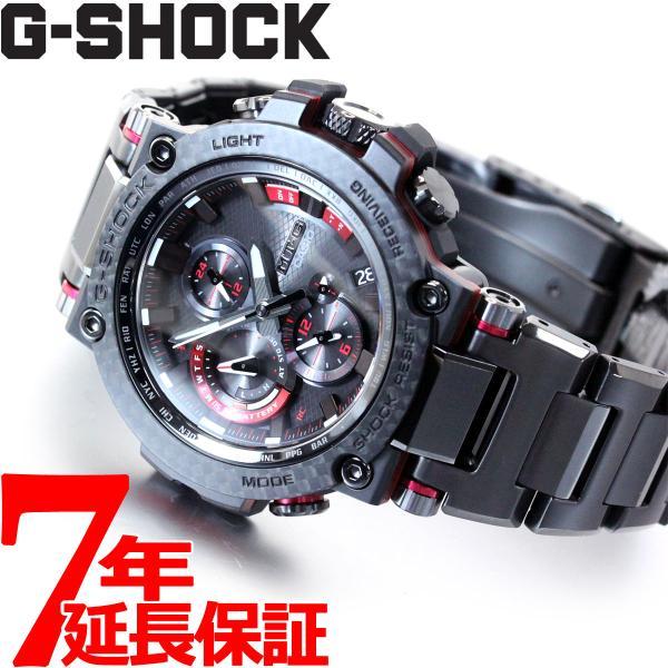 店内最大26倍 GショックMT-GG-SHOCK電波ソーラーメンズ腕時計MTG-B1000XBD-1AJFジーショック