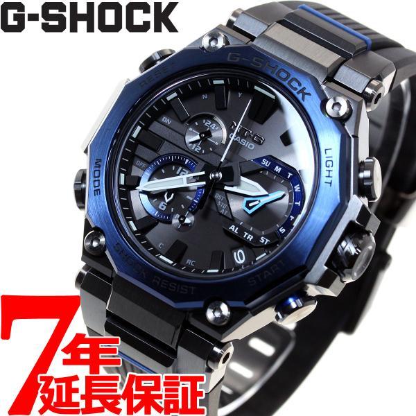 店内最大26倍 GショックMT-GG-SHOCK電波ソーラーメンズ腕時計MTG-B2000B-1A2JFジーショック