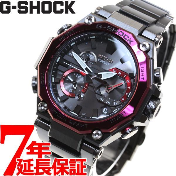 店内最大26倍 GショックMT-GG-SHOCK電波ソーラーメンズ腕時計MTG-B2000BD-1A4JFジーショック