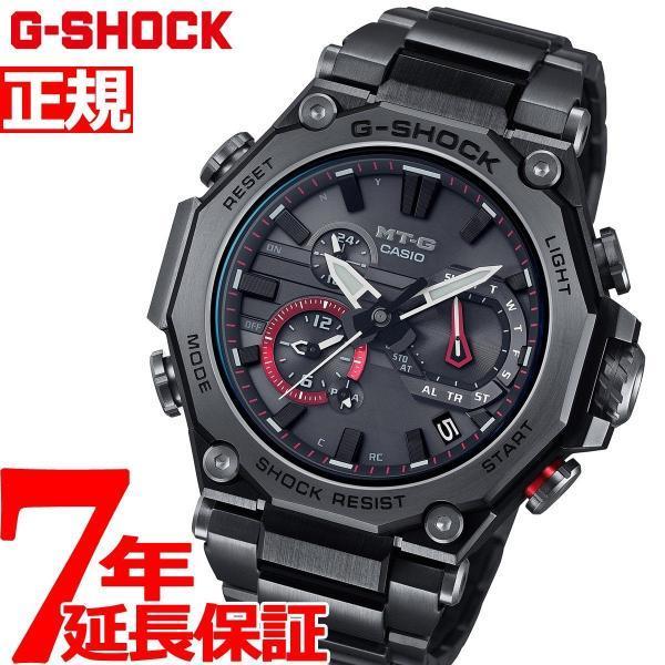 店内最大26倍 GショックMT-GG-SHOCK電波ソーラーメンズ腕時計MTG-B2000BDE-1AJRジーショック