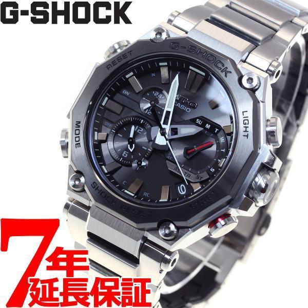 店内最大26倍 GショックMT-GG-SHOCK電波ソーラーメンズ腕時計MTG-B2000D-1AJFジーショック