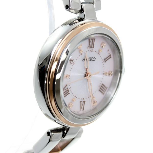 ポイント最大21倍! セイコー セレクション SEIKO SELECTION 電波 ソーラー 腕時計 レディース SWFH090