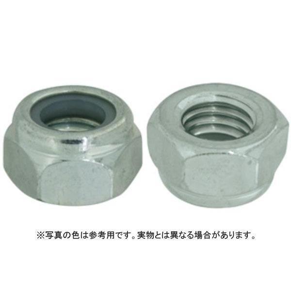 ナイロンナット(2種(DIN 鉄 三価ホワイト  M8(13X8 【パック商品 20本入】