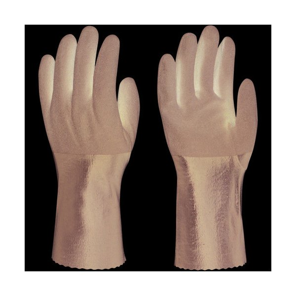 トワロン ニトリルゴム手袋 耐油ニトリルパワーロング L 502-L