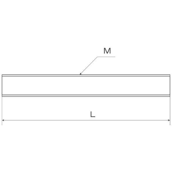 ステンレス 寸切ボルト 太さ=10mm × 長さ=400mm 【 バラ売り : 1本入り 】|nejiya|03
