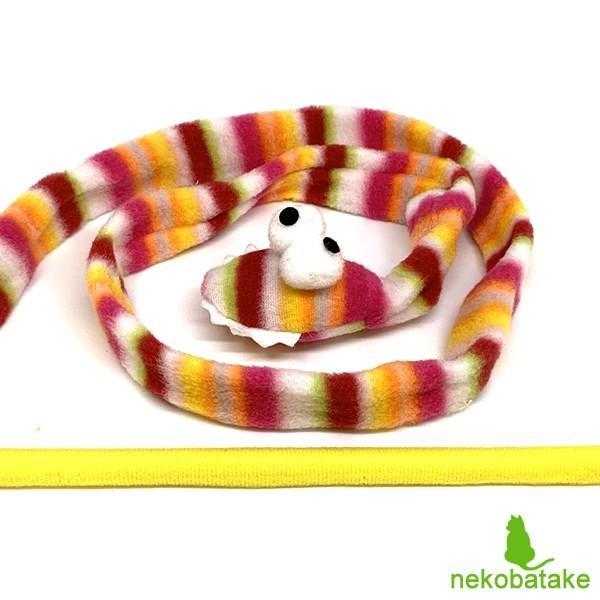 ループ ロッディーズ ガラガラヘビ / 猫用おもちゃ 猫じゃらし リボン