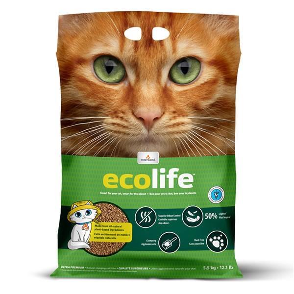 エコライフ 4.5kg 天然植物素材 固まる 消臭 流せる|nekobatake