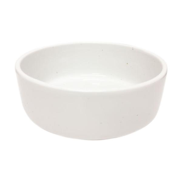 ヘルスウォーターシリーズ 水飲み用ボウル  ホワイト L 猫用食器 水のみボウル オーカッツ|nekobatake