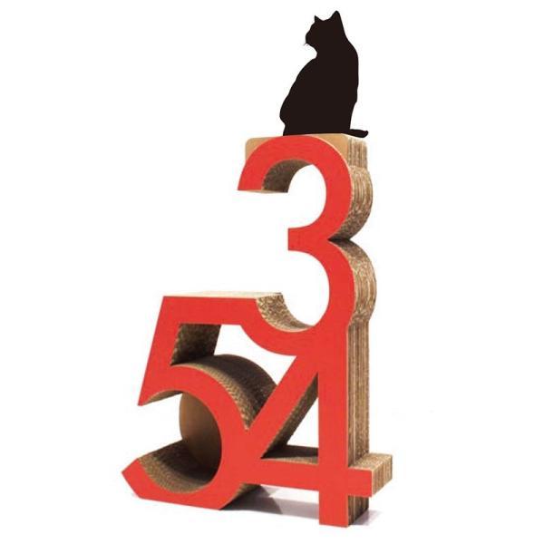 ニャンダフル・キャットタワー「345」 据え置き型 / 猫用 キャットタワー ECOでおしゃれなデザインの高品質 日本製 ダンボール製|nekodan