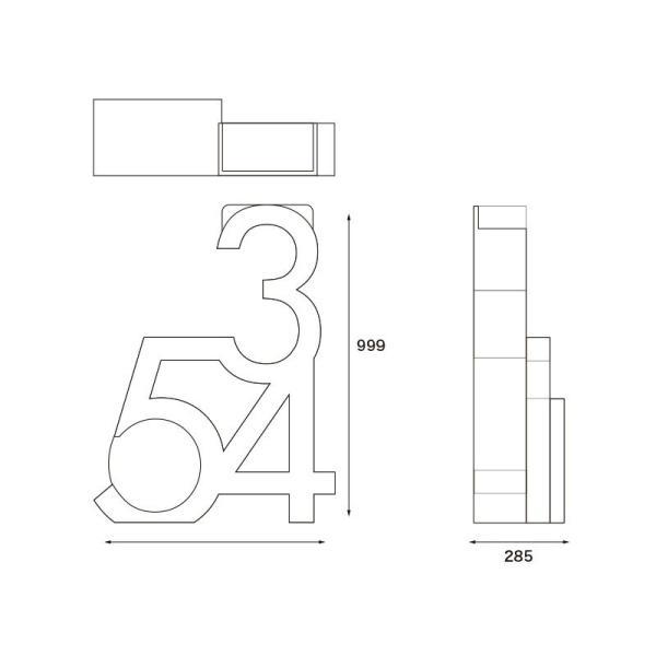 ニャンダフル・キャットタワー「345」 据え置き型 / 猫用 キャットタワー ECOでおしゃれなデザインの高品質 日本製 ダンボール製|nekodan|04