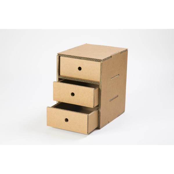 3段収納BOX ニャンダフルシェルフ オプション品 / 猫用 ECO おしゃれデザイン 日本製|nekodan|05