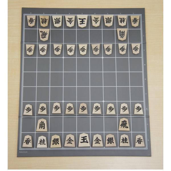 将棋盤 ねこまど将棋盤 折れ盤 初心者向け 持ち運びに便利|nekomadoshop|05