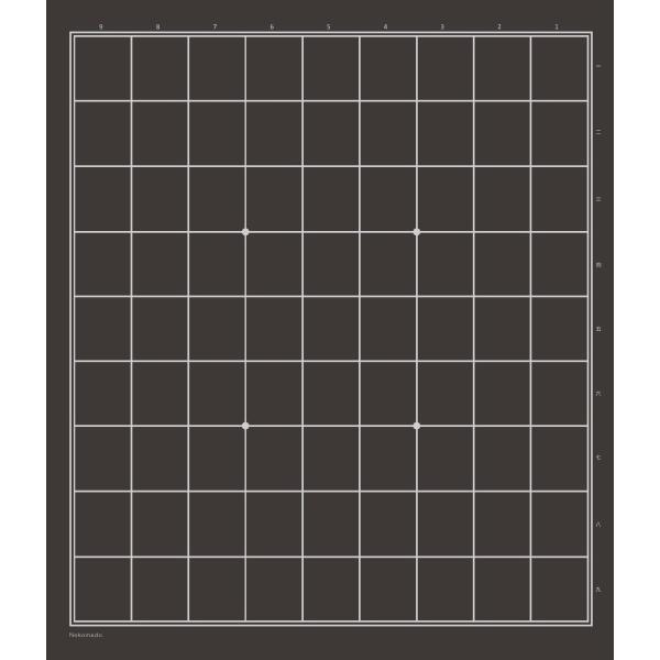 将棋盤 ねこまど将棋盤 折れ盤【10枚以上まとめ買い20%OFF】|nekomadoshop|03