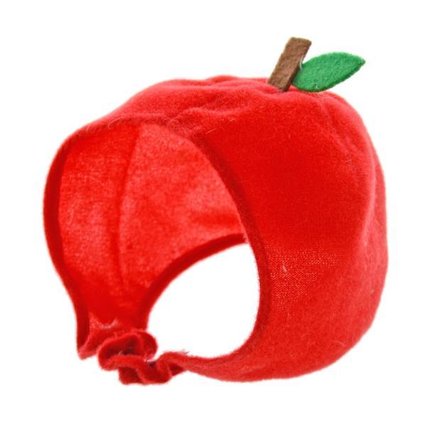 猫ちゃん専用かぶりもの フルーツ・りんご|nekote-shop|02