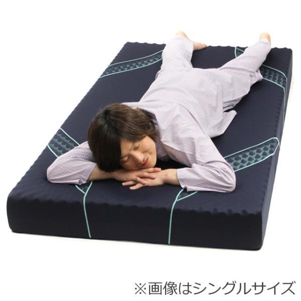 西川エアー 01 シングル ベッドマットレスタイプ ハード AiR HARD 185N ネイビー 東京西川 ポイント10倍|nemurinokamisama|04