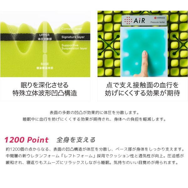 西川エアー 敷き布団 マットレス 01 ダブル ベーシック AiR BASIC 100N ピンク 東京西川 ポイント10倍|nemurinokamisama|04