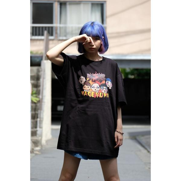 禿夢×蕪木蓮Tシャツ|nemutai-company|04