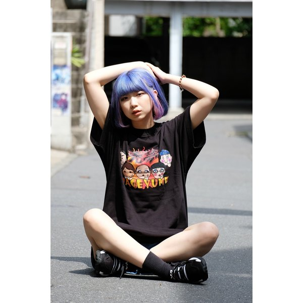 禿夢×蕪木蓮Tシャツ|nemutai-company|05