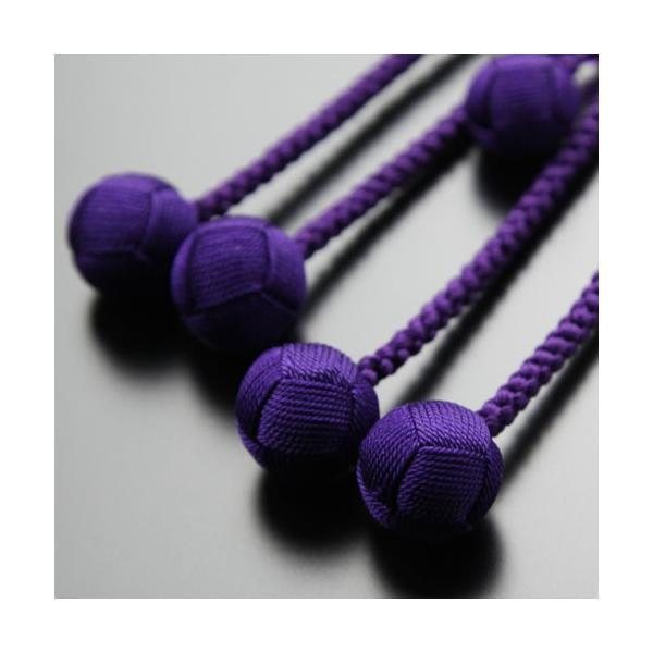 日蓮宗 数珠 男性用 尺二 紫水晶 梵天房 数珠袋付き|nenjyu|04