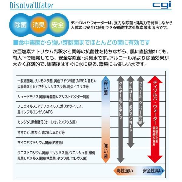 次亜塩素酸水 福袋 5L+空スプレーボトル7本+計量セット ディゾルバウォーター 約3ヶ月分!希釈後最大20L分 nenrin 05