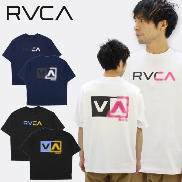 ルーカ RVCA  SCANNER SS TEE メンズ 半袖Tシャツ  カットソー bb041-255   男性用 [AA]