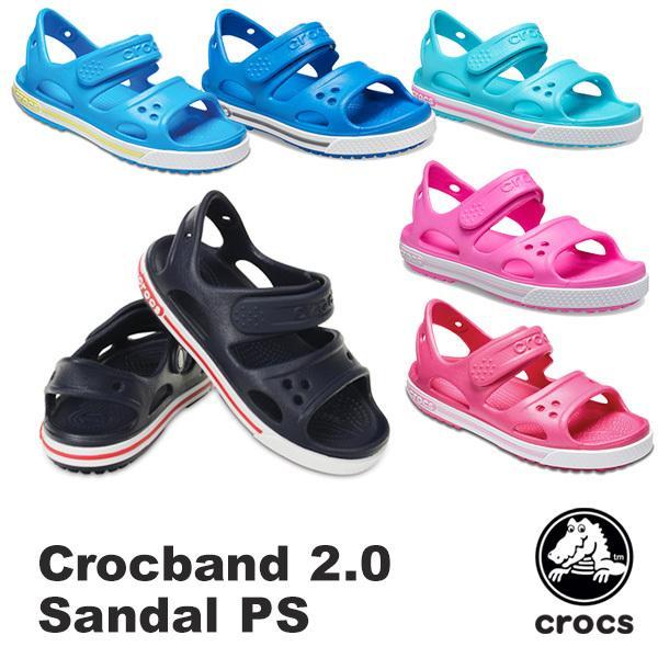 2d83c85d1ca998 クロックス CROCS クロックバンド 2.0 サンダル PS crocband 2.0 sandal PS サンダル キッズ[AA]
