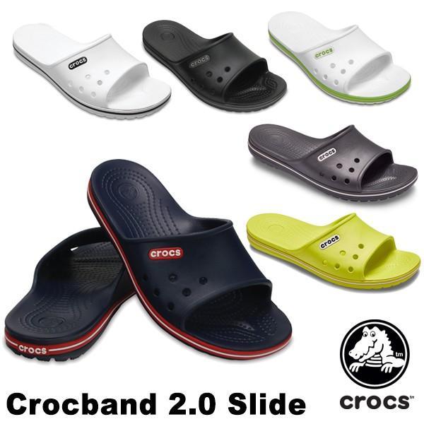 クロックス(CROCS) クロックバンド 2.0 スライド(crocband 2.0 slide) メンズ/レディース サンダル(男女兼用)[AA]|neo