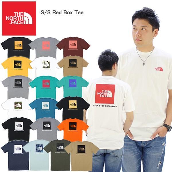 ザ・ノースフェイス THE NORTH FACE  S S Red Box Tee メンズ 半袖 Tシャツ[AA-2]|neo