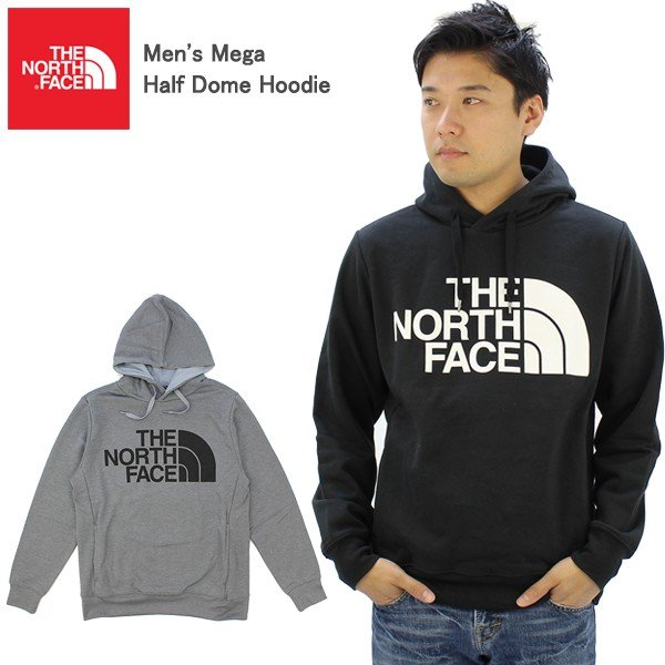 ザ・ノース フェイス THE NORTH FACE  Mega Half Dome Pullover Hoodie プルオーバー パーカー フードスウェット 男性用 メンズ US企画 [BB] neo