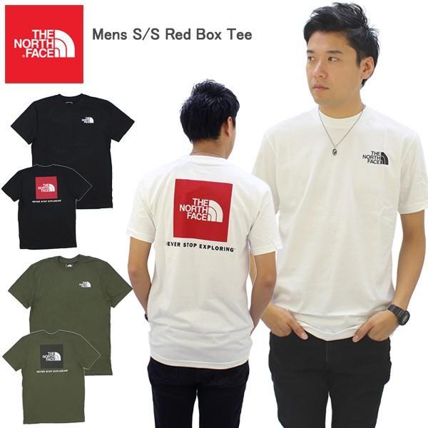 ザ・ノースフェイス THE NORTH FACE Mens S/S Red Box Tee メンズ 半袖 Tシャツ US企画 [AA-2]|neo