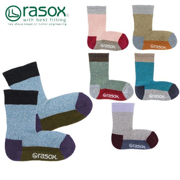 ラソックス rasox  TKスポーツクルー ソックス トドラー キッズ-子供・ジュニア用 靴下 [AA-2]