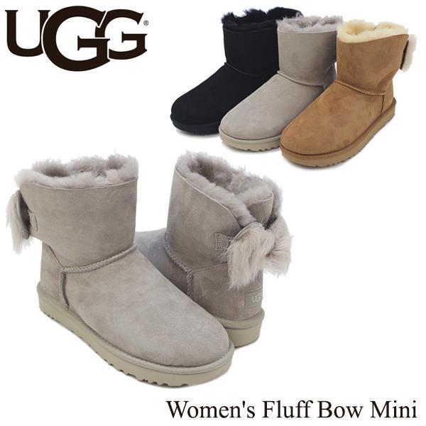 アグ オーストラリア UGG Australia  ウィメンズ フラッフ ボウ ミニ Women's Fluff Bow Mini  ブーツ ショート[CC]
