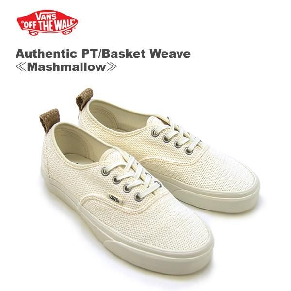 vans basket weave authentic pt