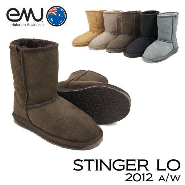 エミュー オーストラリア EMU Australia スティンガー ロー STINGER LO シープスキン ブーツ