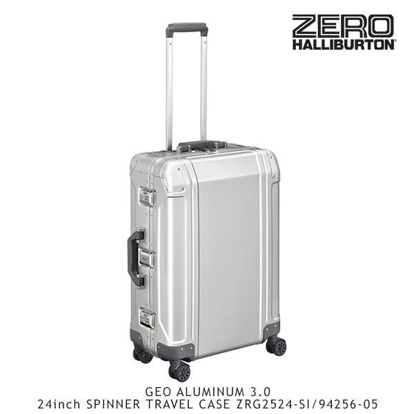 4692a53c90 ゼロハリバートン ZERO HALLIBURTON ジオ アルミニウム 3.0 24inch SPINNER TRAVEL CASE  ZRG2524-SI/94256-