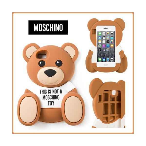 cbc9343920 海外セレブ愛用MOSCHINO (モスキーノ) Teddy bear iPhone 5 5s case スマホケース