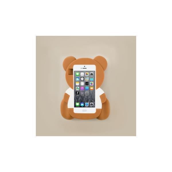 7593595057 海外セレブ愛用MOSCHINO (モスキーノ) Teddy bear iPhone 5 5s case スマホケース ...