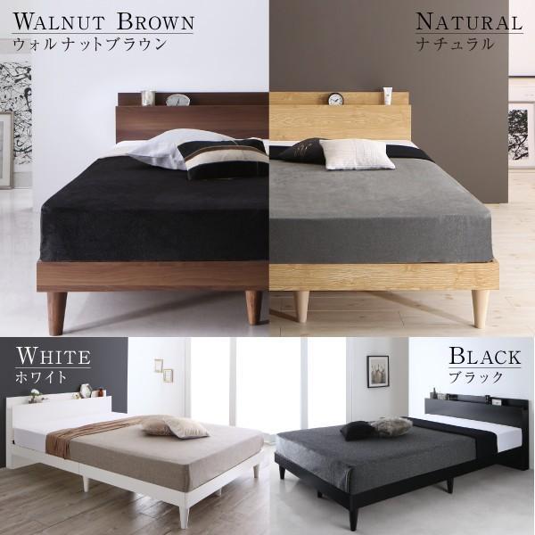 シングルベッド すのこベッド フレーム 棚 コンセント 木製 シンプル|neolife|03