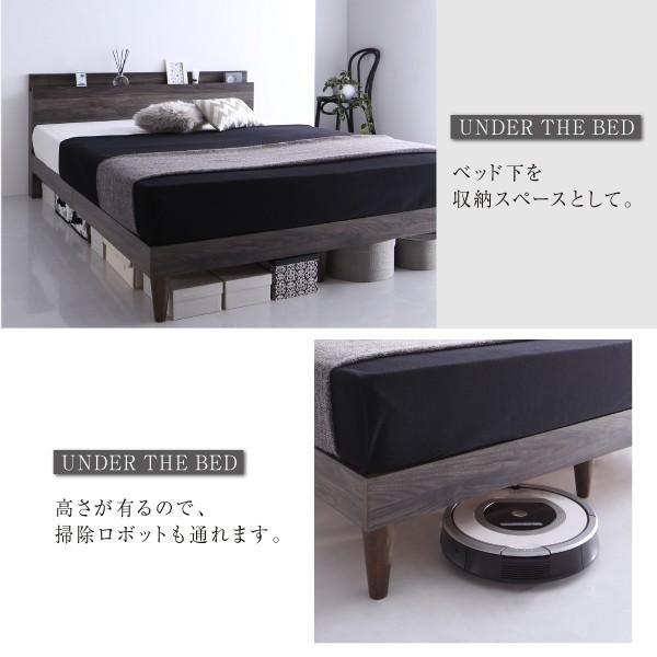 シングルベッド すのこベッド フレーム 棚 コンセント 木製 シンプル|neolife|07