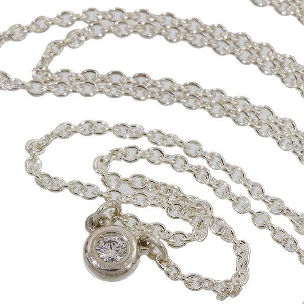 ティファニー バイザヤード ダイヤ ネックレス SV925 41.0cm neonet05
