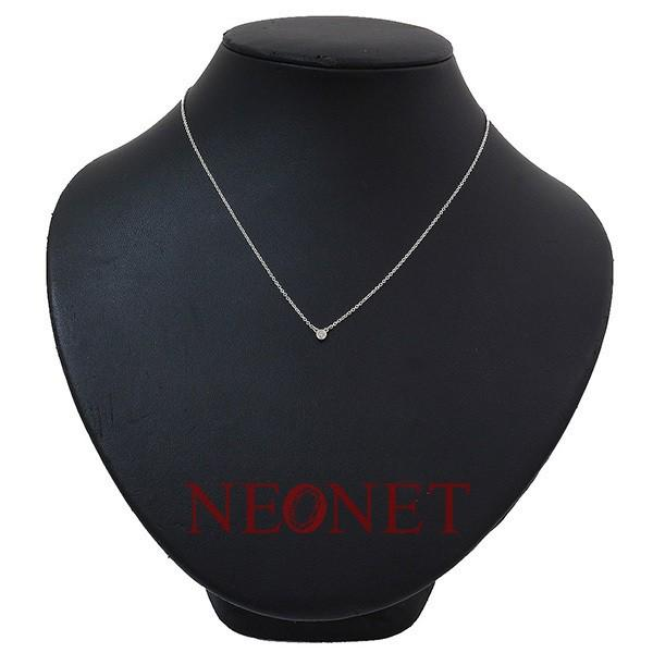 (ティファニー)Tiffany バイザヤード ダイヤ ネックレス SV925 41.0cm|neonet05|02