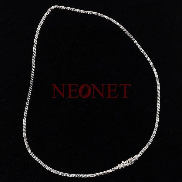 (フレッド)FRED フォース10 MM フルダイヤ 三連ブレス K18WG ネックレス