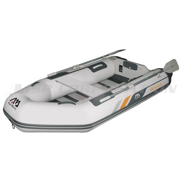 ゴムボート 釣り ミニボート フィッシングボート 免許不要 アクアマリーナ DELUXE デラックス250 2人乗り スラットフロア