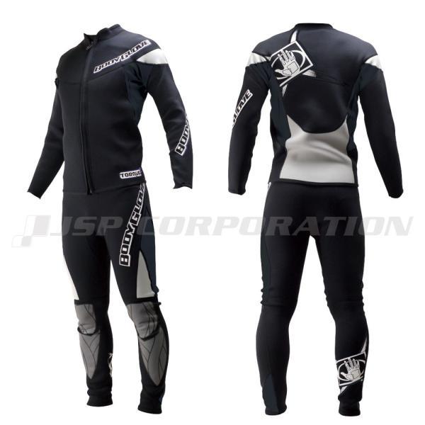 ウェットスーツ 2.5mm 2ピース メンズ トルク ジャケット&ジョン BODYGLOVE / ボディーグローブ ジェットスキー 水上バイク|neonet|04