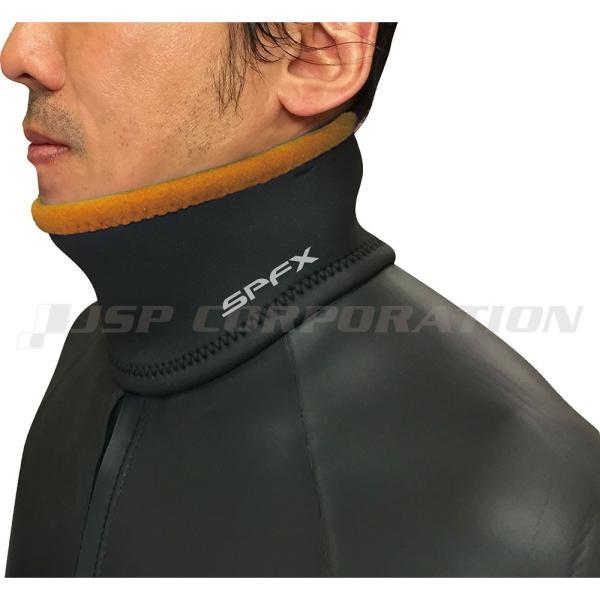 ウェットスーツ ドライスーツ の防水対策 / ネックベルト 水の浸入を防ぐネックウォーマー ネオプレン素材 ウェットスーツ生地