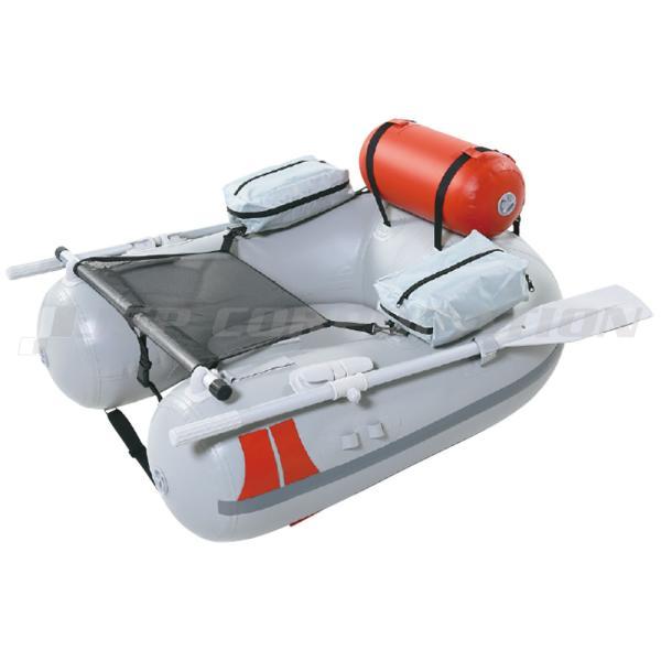 JU-5N ライトグレー 1人乗り フローター ゴムボート ジョイクラフト