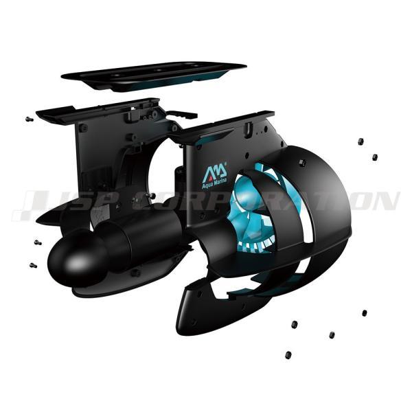 BlueDrive ブルードライブ  POWER FIN パワーフィン スタンドアップパドルボード / カヤック用 電動 モーター フィン アクアマリーナ|neonet|02