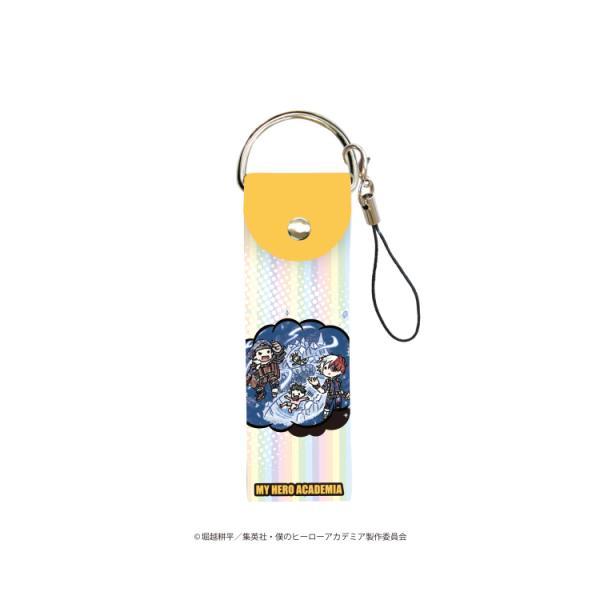 2021/02発売 [グッズ]/ビッグレザーストラップ 「僕のヒーローアカデミア」 03 / 吹き出しデザイン C (グラフアート)【タカラトミーアー