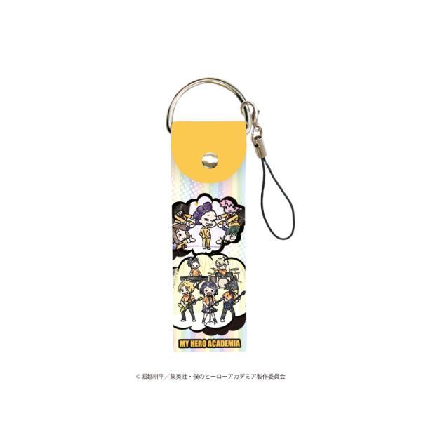 2021/02発売 [グッズ]/ビッグレザーストラップ 「僕のヒーローアカデミア」 04 / 吹き出しデザイン D (グラフアート)【タカラトミーアー