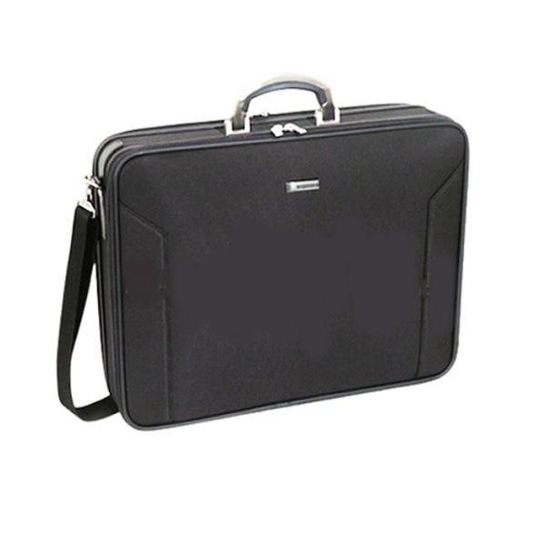 アタッシュケース ソフト ショルダー ブリーフケース 日本製 豊岡製鞄 メンズ 大容量 ナイロン ビジネス メンズ  A3 46cm BAGGEX